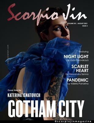 SCORPIO JIN MAGAZINE VOLUME 50 | AUGUST 2021 | ISSUE 2
