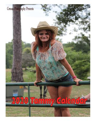 2020 Tammy calendar