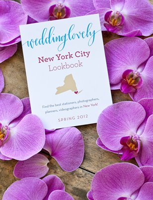 New York City WeddingLovely Lookbook, Spring 2012