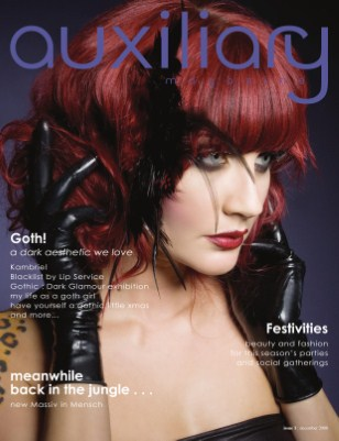 auxiliary magazine : december 08