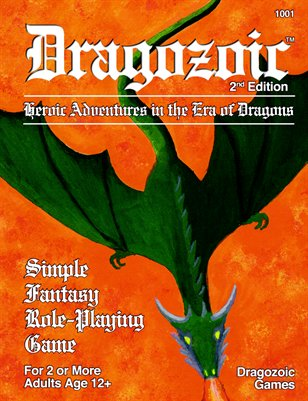 Dragozoic - Simple Fantasy Role-Playing Game 2nd Edition