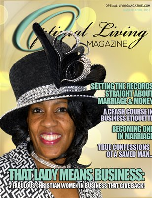 Optimal Living Magazine 2013 March/April Issue