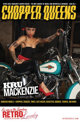 Chopper Queens No.1 – Kru Mackenzie Cover Poster