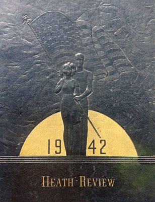 1942 Heath High School Yearbook, McCracken County, Kentucky