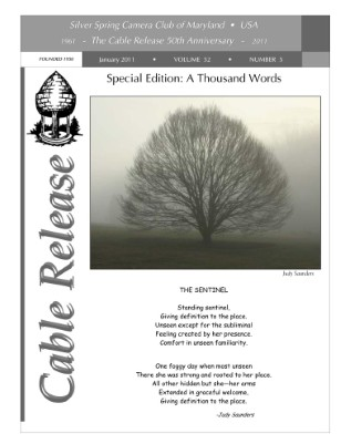 January 2011 Cable Release, Vol. 52, No. 5