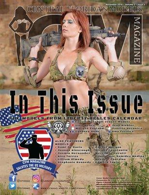 CFM Magazine Vol 2 Issue 5• Nov 2016 Tribute U.S. Military