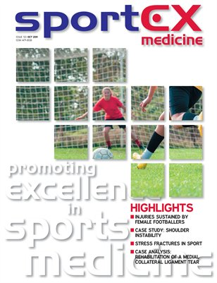 sportEX medicine: October 2011 (Issue 50)