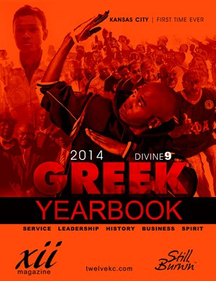 TWELVE Greek Yearbook 2014
