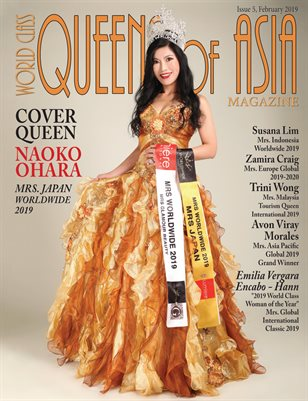 World Class Queens of Asia Magazine Issue 5 with Naoko Ohara