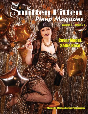 Smitten Kitten Pinup Magazine Cover 2 Sadie Rose January 2020 Issue