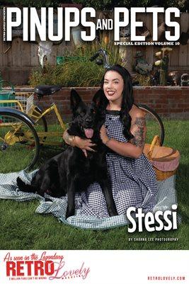 Pinups & Pets Vol. 10 – Stessi Cover Poster