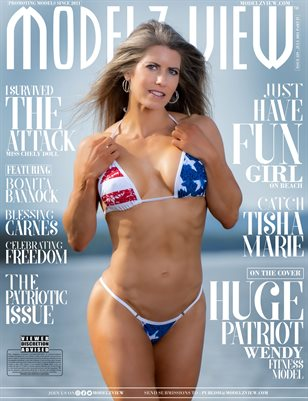MODELZ VIEW JULY 2021 - USA INDEPENDENCE DAY SPECIAL Part 4/4 | ISSUE 229