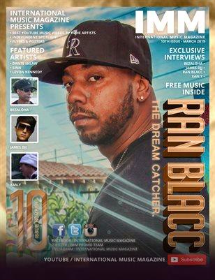 International Music Magazine - 10th Issue - Ran Blacc - The Dream Catcher