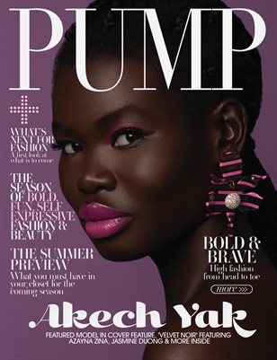 PUMP Magazine | The Ultimate Fashion & Beauty Issue | Vol.5 | May 2021
