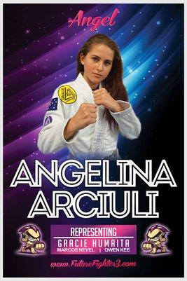 Angelina Arciuli Angel Poster