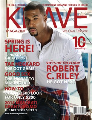 KRAVE Magazine: Robert C. Riley