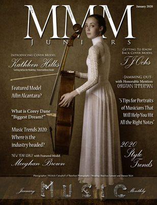 "Juniors January Monthly ""Music"""