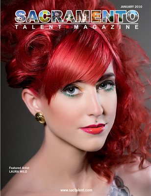 Sacramento Talent Magazine January 2010 Edition