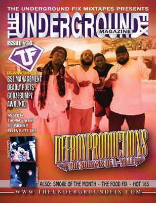 The Underground Fix Magazine Issue #34