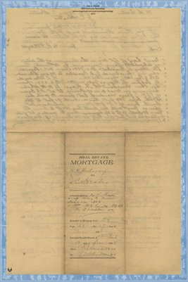 1898 Mortgage, Hester to Hester, Graves County, Kentucky