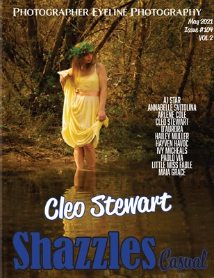 Shazzles May Casual Issue #104 VOL 2 Cover Model Cleo Stewart.