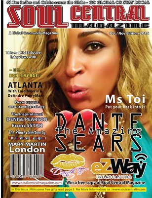 Soul Central Magazine  Oct/Nov Edition 2016