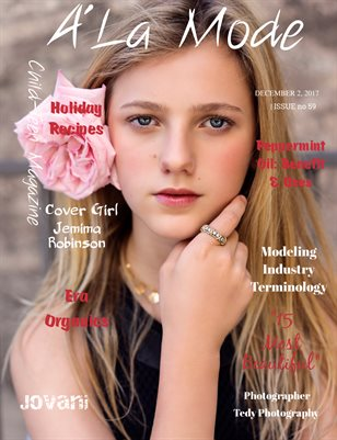 "A'La Mode Child-Teen Magazine, Issue #59 ""15 Most Beautiful "" Children"
