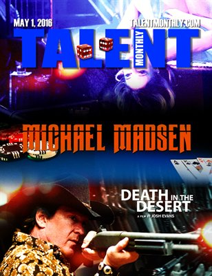Talent Monthly Magazine - Michael Madsen, Lenny Platt