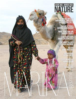 MARIKA MAGAZINE NATURE & TRAVELS (MARCH -  ISSUE 683)