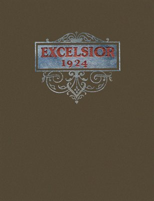 "1924 ""Excelsior"" Benton High School Yearbook, Marshall County, Kentucky"