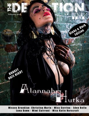 February issue 2: Alannah Hutka Cover