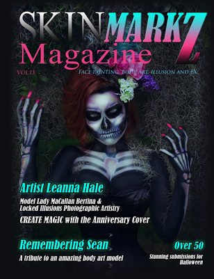 October Issue of SkinMarkZ Magazine - Vol. 13