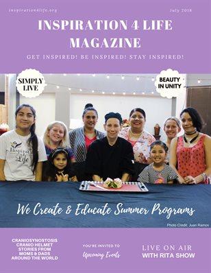 July Inspiration 4 Life Magazine