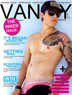 Vanity magazine - The Ink Issue