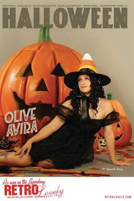 Halloween 2021 Vol.6 – Olive Avira Cover Poster