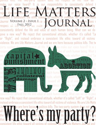 Life Matters Journal - Volume 2 - Issue 1