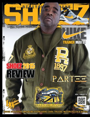 "Shoez Digital Magazine Issue#12 With ""Partee"""