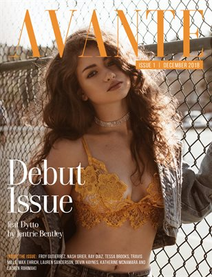Avante Debut Issue: Dytto Cover