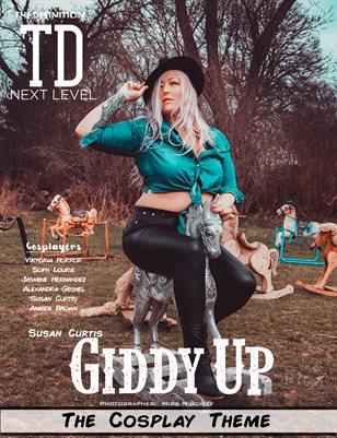 TDM Susan Curtis Cosplay VOL 2 Cover 3