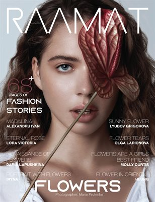 RAAMAT Magazine March 2021 FLOWERS Special Edition Issue 1
