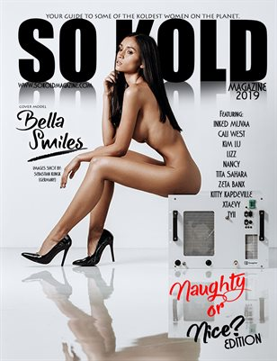 "SO KOLD MAGAZINE ""NAUGHTY OR NICE"" BELLA SMILES (LONDON TRIBUTE)"