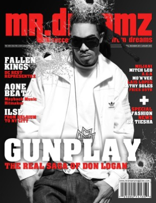 GUNPLAY Mr Dreamz magazine