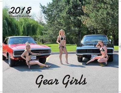 2018 Gear Girls Classic Car Calendar Limited Edittion