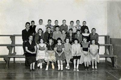 Mrs. Nelson Class 1955-56