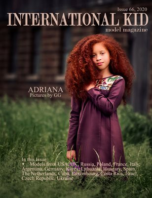 International Kid Model Magazine issue #66