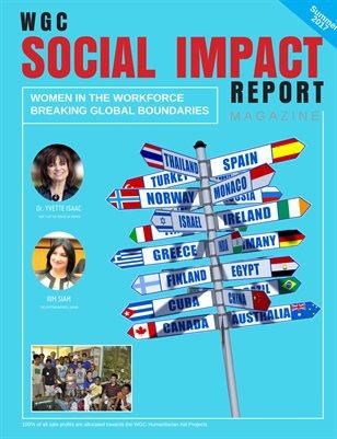 SOCIAL IMPACT REPORT MAGAZINE JUNE