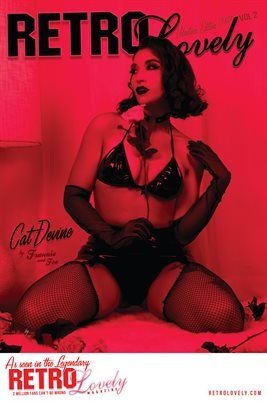 Retro Lovely Valentine 2019 - VOL 2 - Cat Devine  Cover Poster