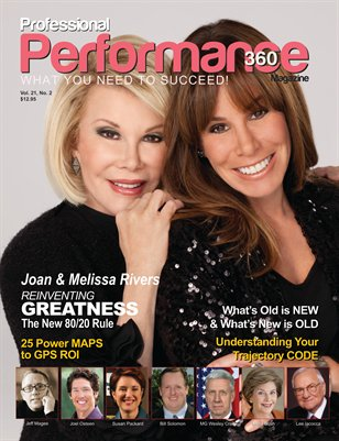 Joan & Melissa Rivers Edition - PERFORMANCE/P360 Magazine - V. 22, I. 2