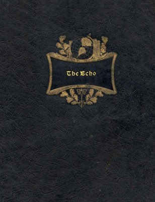 "1939 ""The Echo"", Lowes High School Yearbook, Graves County, Kentucky"
