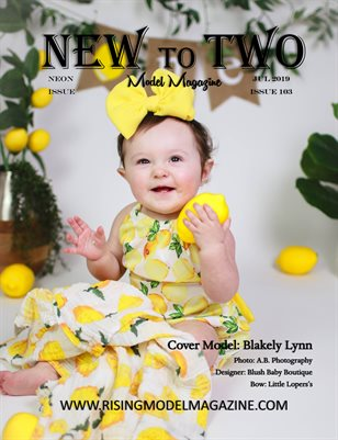 New To Two Model Magazine Issue #103